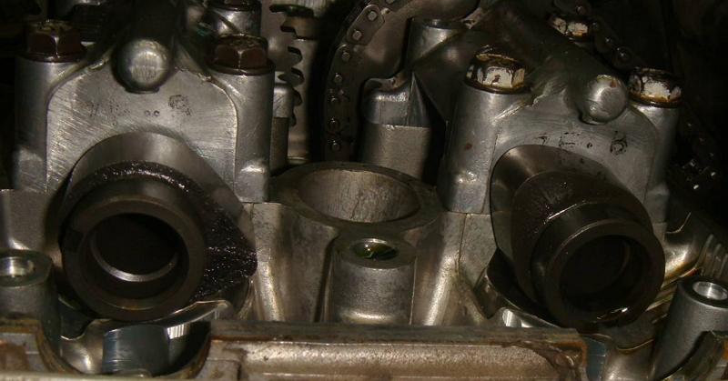 головка цилиндра хонды магна