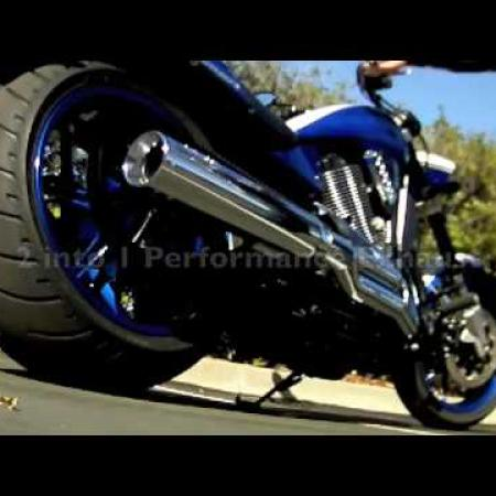 2009 Victory Hammer S American Muscle with Performance Exhaust