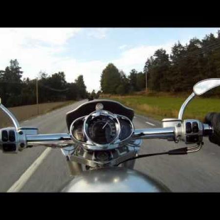 v-rod turbo and nightrod riding (gopro hd)